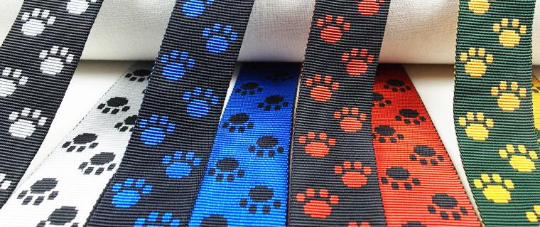 Pfötchen- und Hundegurtband